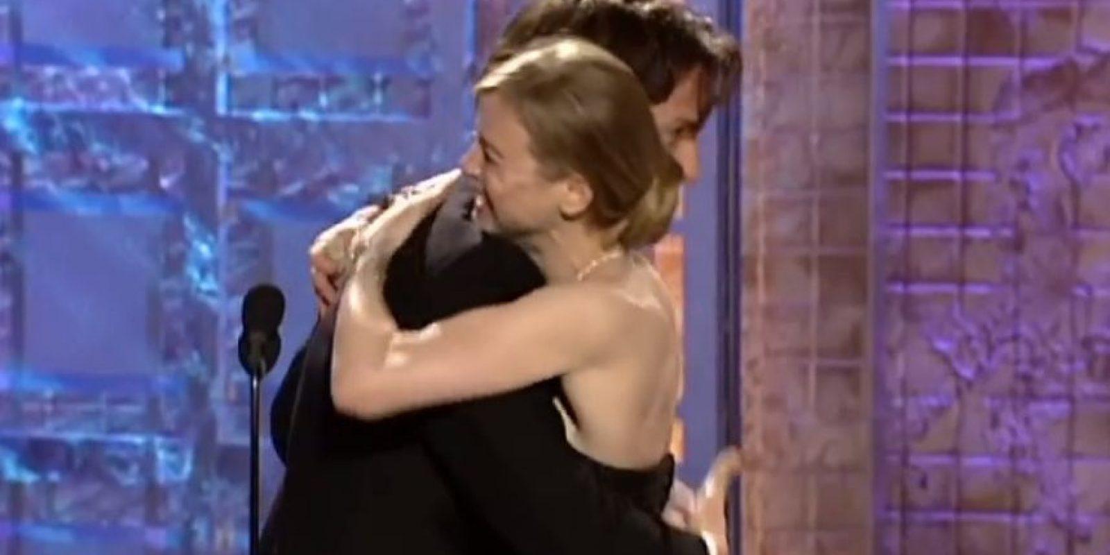 Pero ella estaba en el baño. No creía que fuese a ganar. Foto:NBC