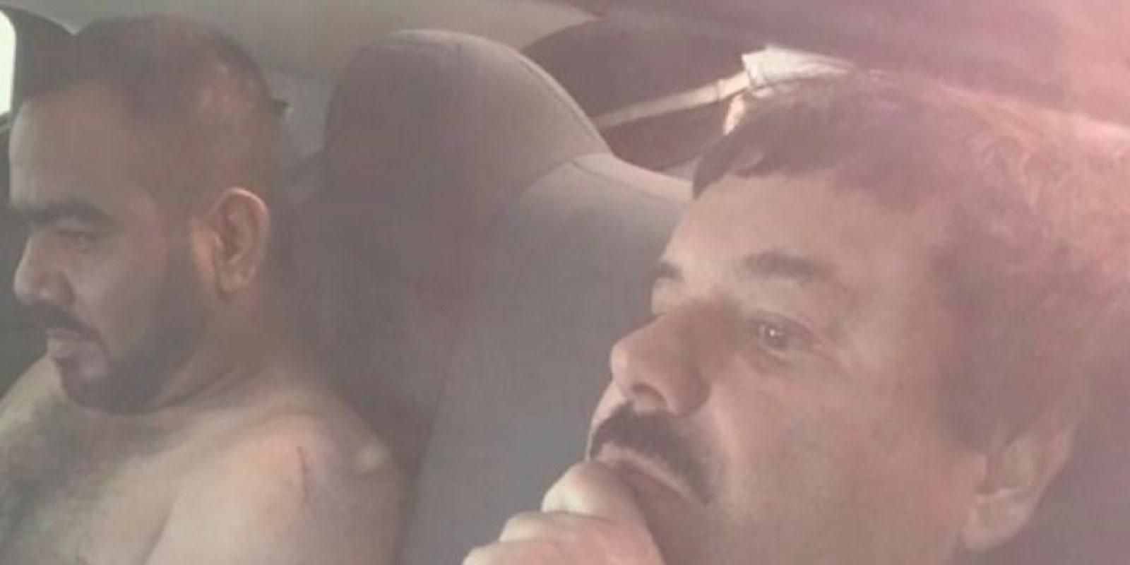 """""""El Chapo"""" Guzmán no cayó solo. Lo hizo junto con su jefe de sicarios, """"El Cholo"""" Iván. Foto:vía Twitter"""