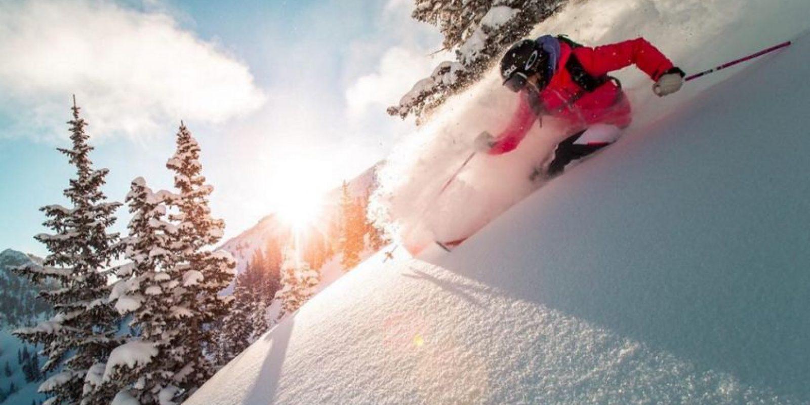 El esquí no es un deporte muy común en Latinoamérica… Foto:Vía instagram.com/sierraquitiquit