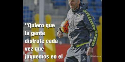 Llegó el día. Zinedine Zidane debutó como entrenador del Real Madrid. Foto:Vía twitter.com/realmadrid
