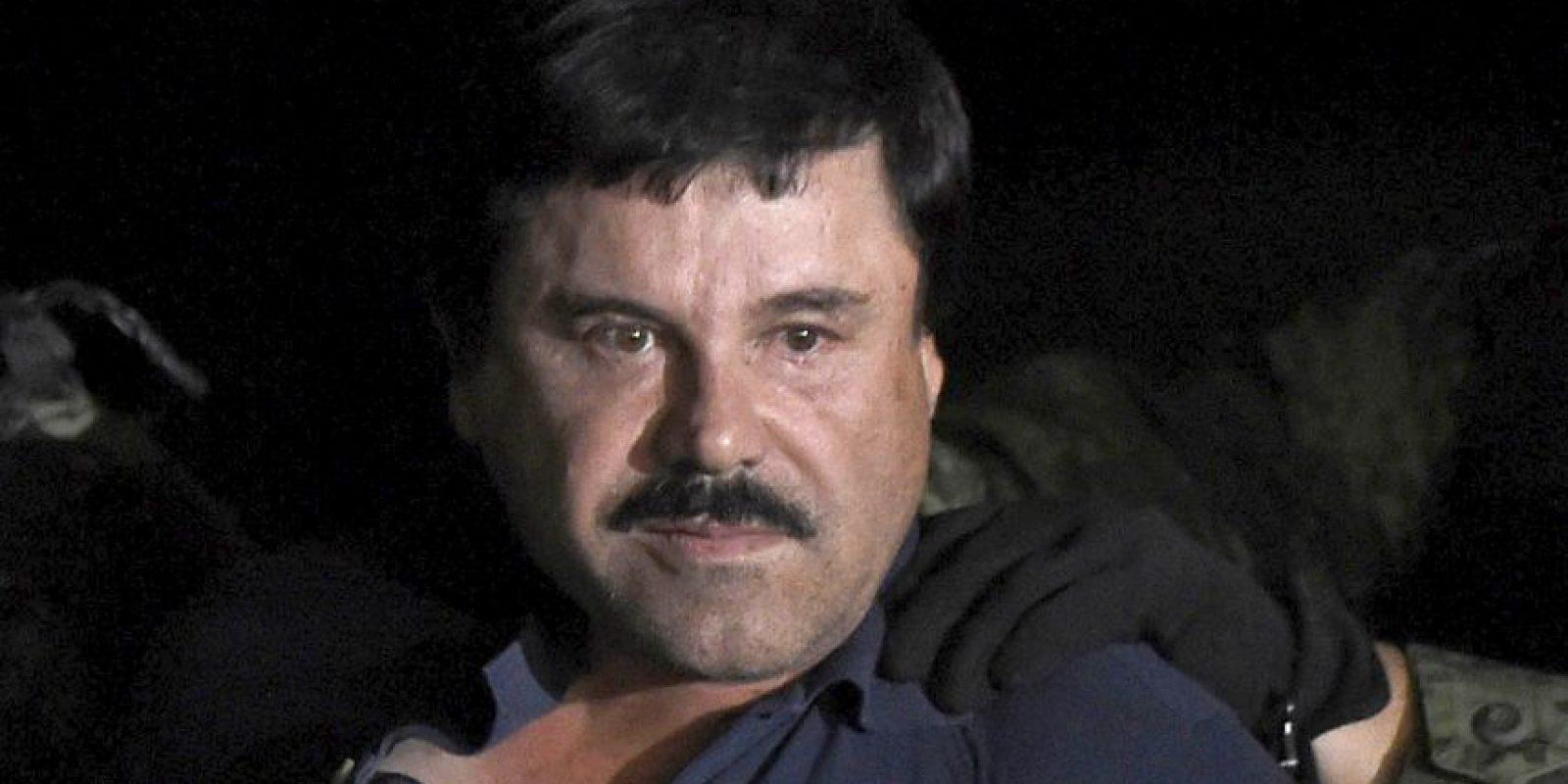 """Se enviaron varios mensajes de Blackberry. """"El Chapo"""" envió un video a los dos actores. Foto:AFP"""