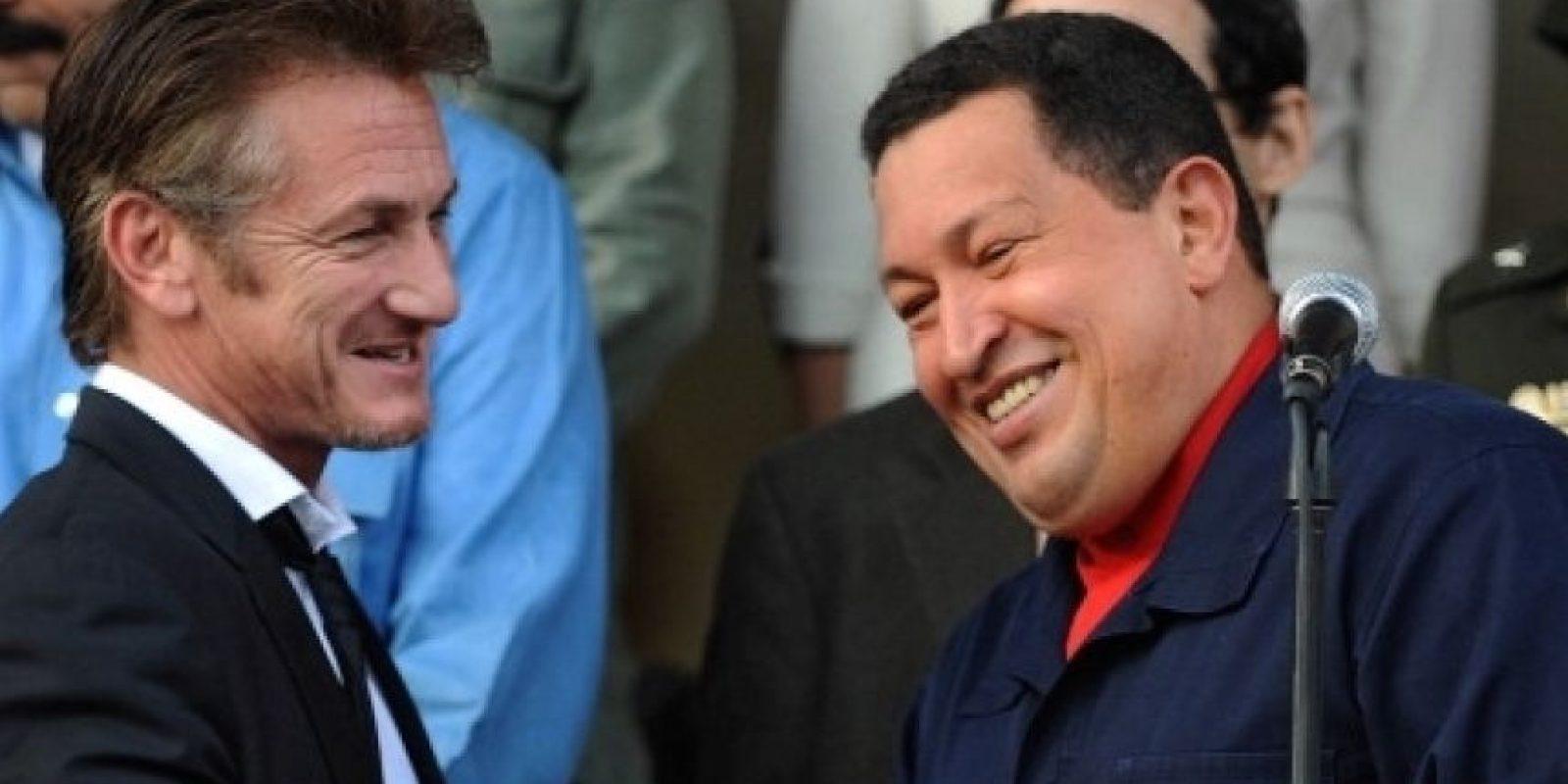 """""""Esperaba encontrar una gran Venezuela y la he encontrado. He venido como periodista y estoy todavía digiriendo las cosas que he visto y aprendido en este viaje"""", declaró el actor durante su viaje. Foto:AFP"""