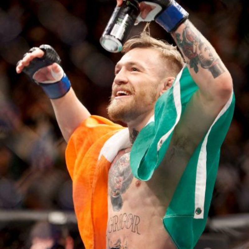 Conor McGregor es el nuevo campeón del Peso Pluma de la UFC. Foto:Getty Images