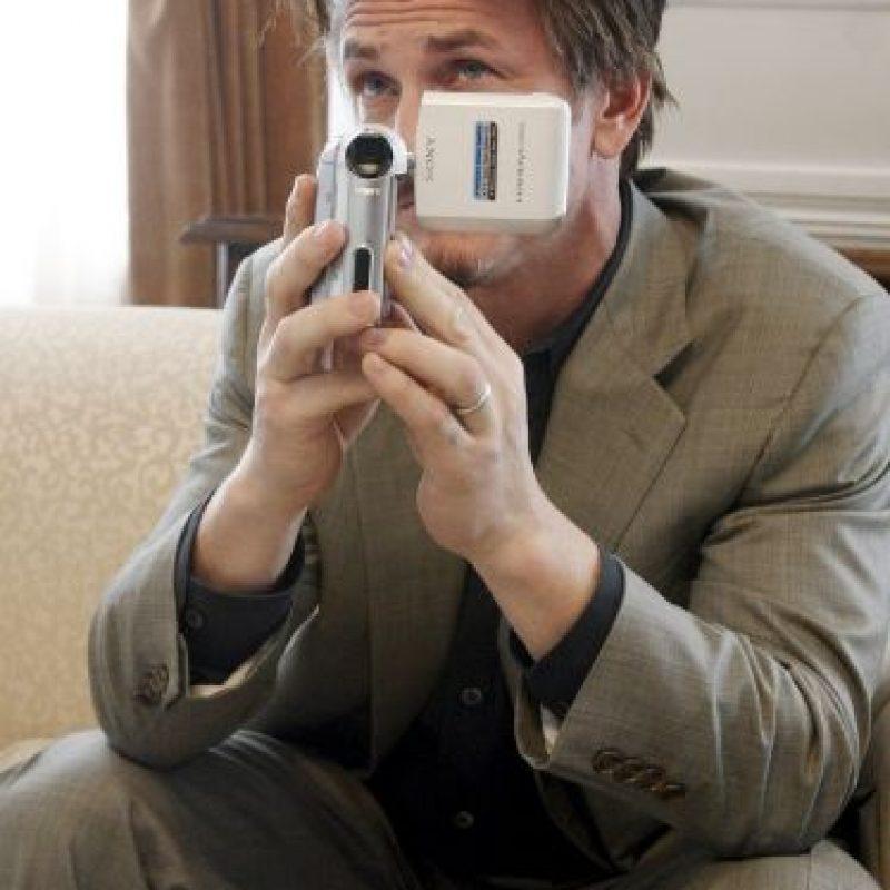 En todos lados, el actor apareció con su tradicional libreta, haciendo apuntes y de vez en cuando tomaba fotos o videos. Foto:Getty Images