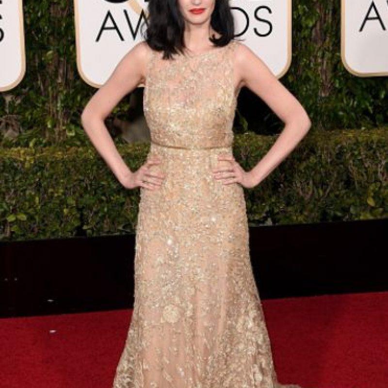 Eva Green suele opacar su belleza con un vestido gigante y un peinado que la oculta. Foto:vía Getty Images