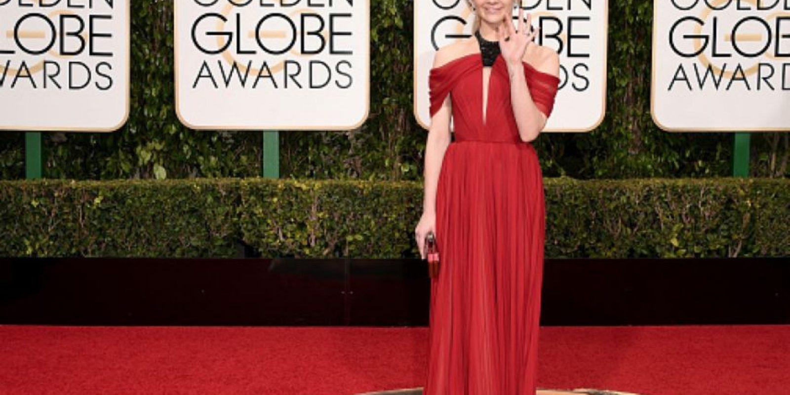 """Natalie Dormer decidió disfrazarse de otro personaje de """"Game of Thrones"""", la bruja Melisandre. Foto:vía Getty Images"""