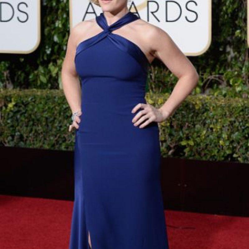 Kate Winslet, sencilla y precisa. Foto:vía Getty Images