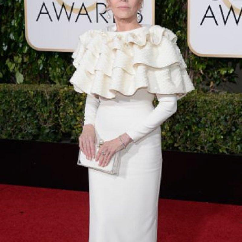 Jane Fonda decidió dejar de lado las curvas, se arriesgó y perdió el encanto. Foto:vía Getty Images