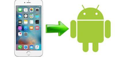 Habrá una herramienta para pasar de iPhone a Android. Foto:Especial