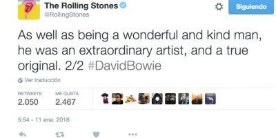 """""""Además de ser un gran y maravilloso hombre, era un extraordinario artista"""". Foto:Twitter.com"""