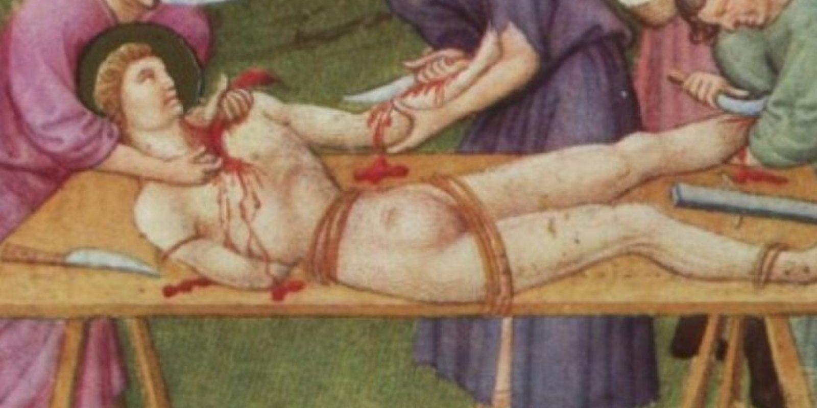 Generalmente, la víctima no llegaba a vivir luego del shock que le producían las heridas. Foto:vía Wikipedia