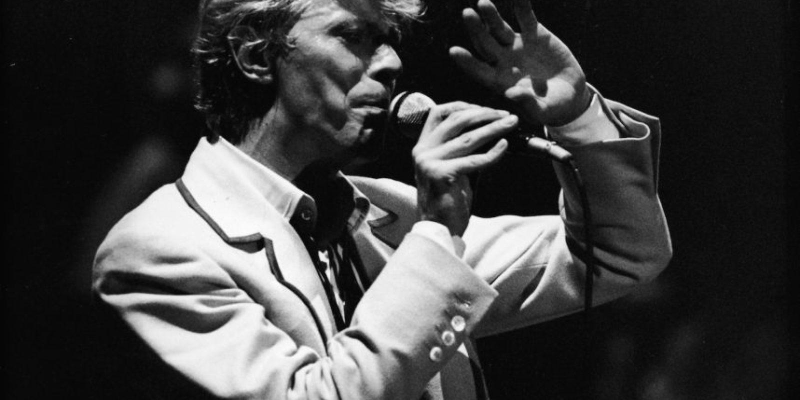 """""""Ziggy Stardust"""" es la historia de un alien de ambigua sexualidad y ansias de rock star, introductor y protagonista de la sensual y galáctica materia con destino apocalíptico. Foto:Getty Images"""