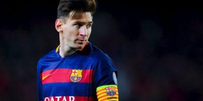 """2. Tiene el Record Guinnes por más goles conseguidos en un año. """"Leo"""" anotó 91 dianas en 69 partidos oficiales, en 2012. Foto:Getty Images"""