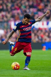 Dani Alves (Brasil, Barcelona) Foto: Getty images