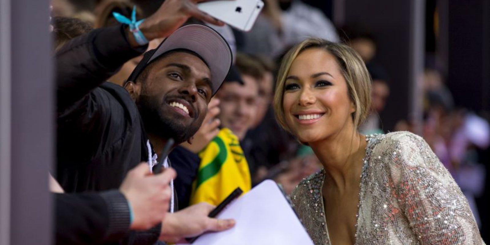 La cantante británica Leona Lewis Foto:Getty Images