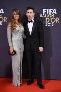 Miren las mejores imágenes de Lionel Messi y Cristiano Ronaldo en la Gala del Balón de Oro 2015 Foto:Getty Images