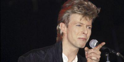 """7. """"Under pressure"""" fue una colaboración con Queen, posiblemente el mejor dueto de la historia de la música. Foto:Getty Images"""