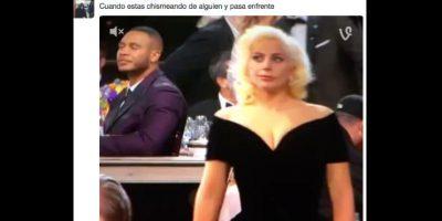 La reacción de la cantante y acriz fue viral. Foto:vía Twitter