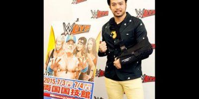 8. Hideo Itami Foto:WWE