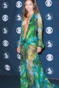 Siendo este su vestido más recordado. Foto:vía Getty Images