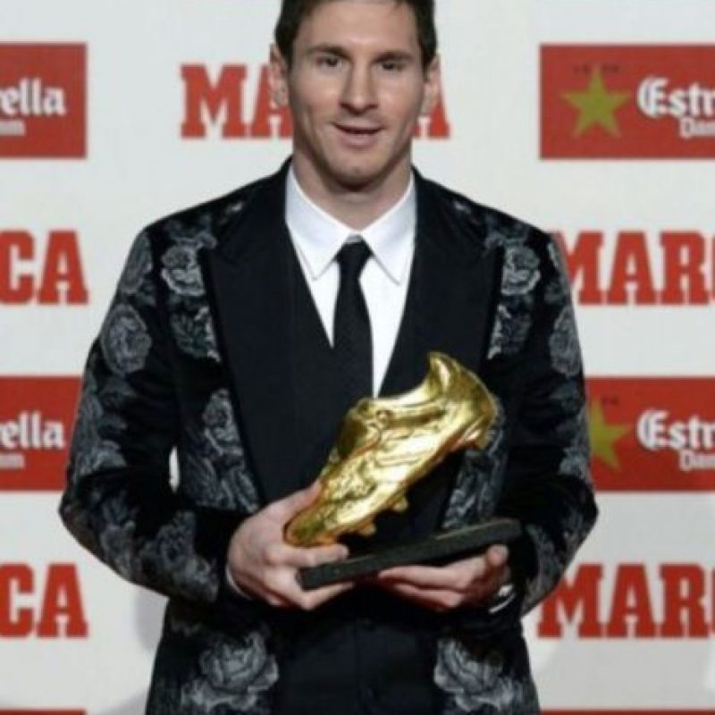 Otros polémicos trajes de Lionel Messi Foto:Getty Images