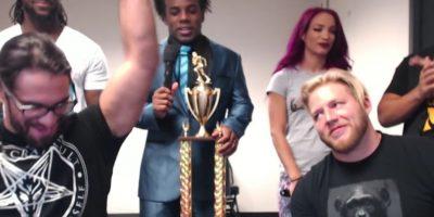Seth Rollins venció a otras superestrellas de WWE en un torneo del videojuego Madden Foto:Twitter