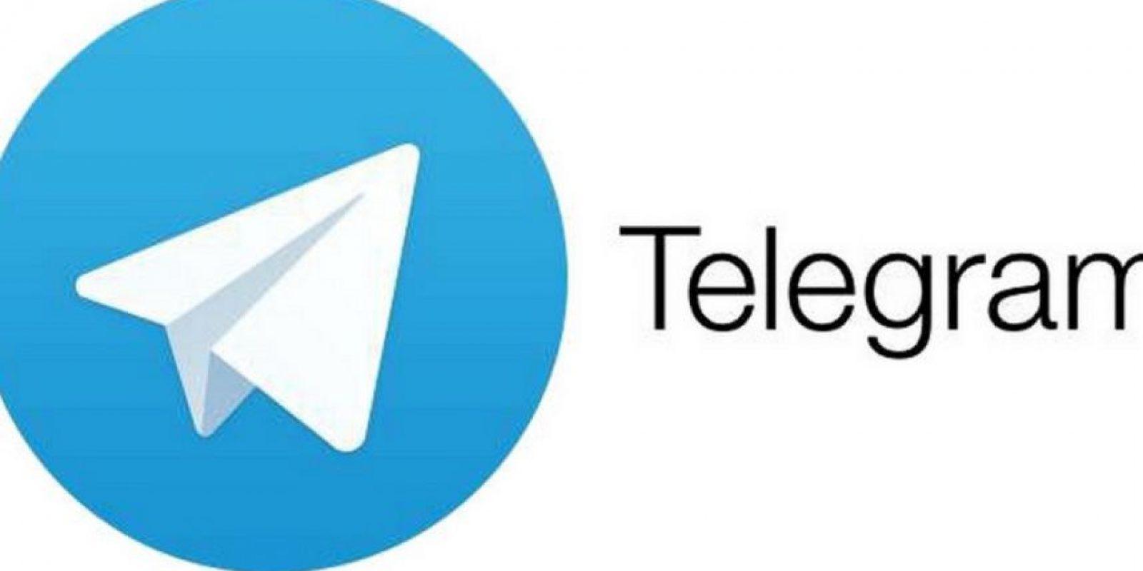 6) Telegram – Disponible para iOS, Android y PC. Foto:vía Tumblr.com