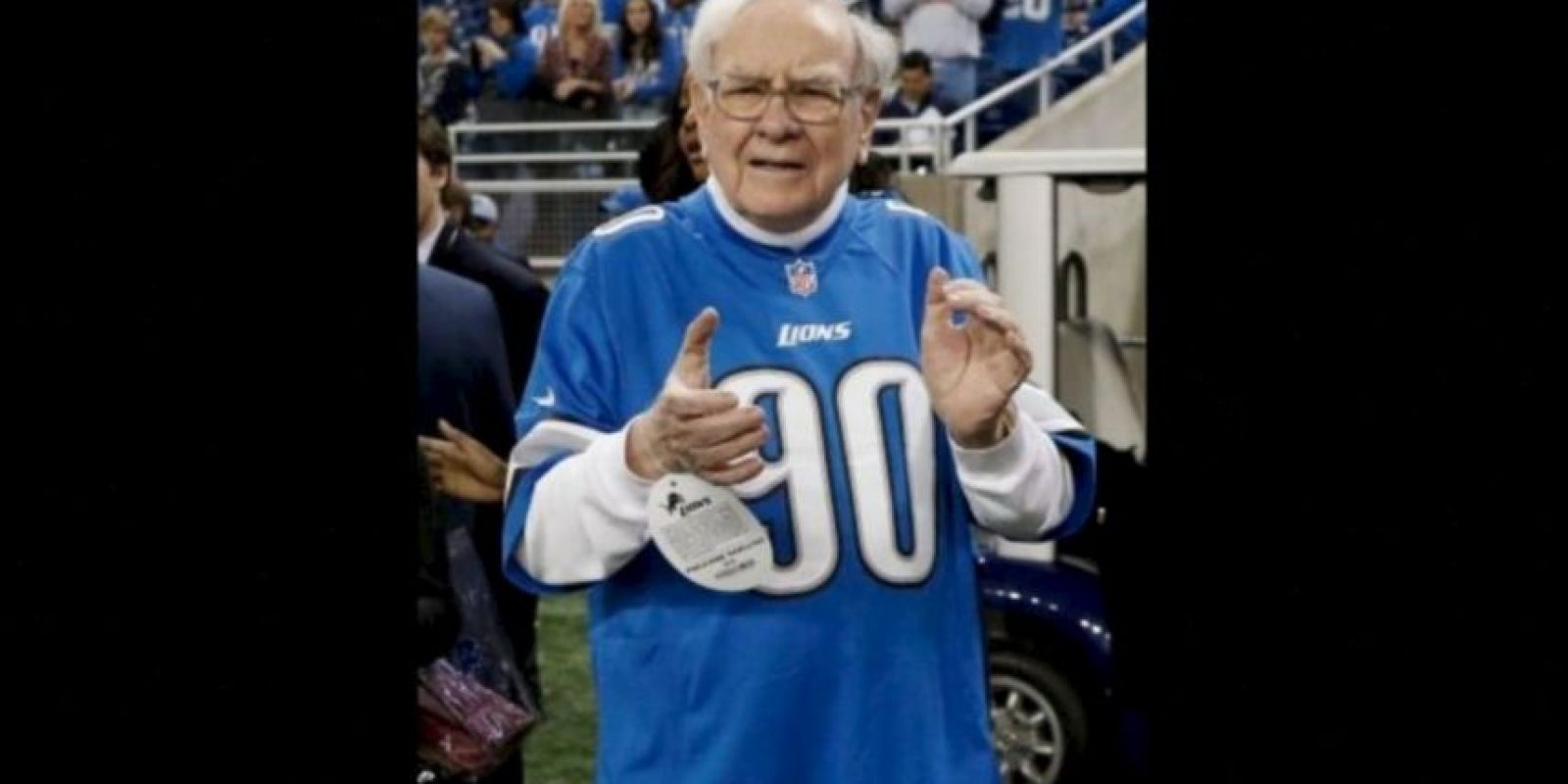 3. Warren Buffet, de 85 años es dueño de la empresa textil Bekshire Hathaway Foto:Getty Images