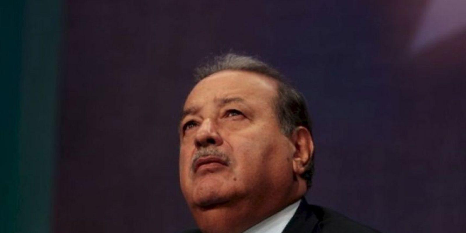 Su fortuna es de 77 millones 100 mil dólares y radica en la Ciudad de México Foto:Getty Images