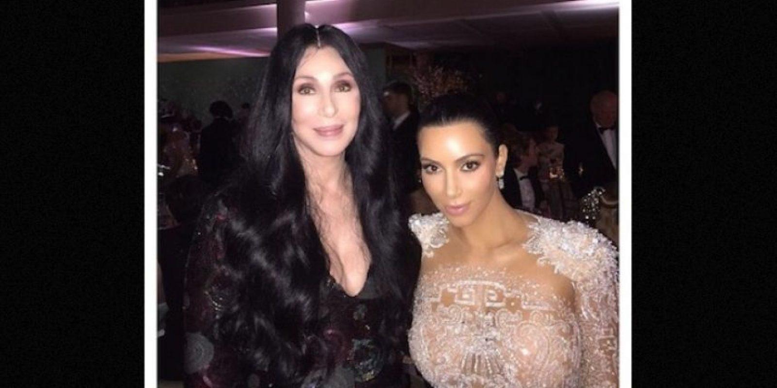 Cher Foto:Instagram/kimkardashian