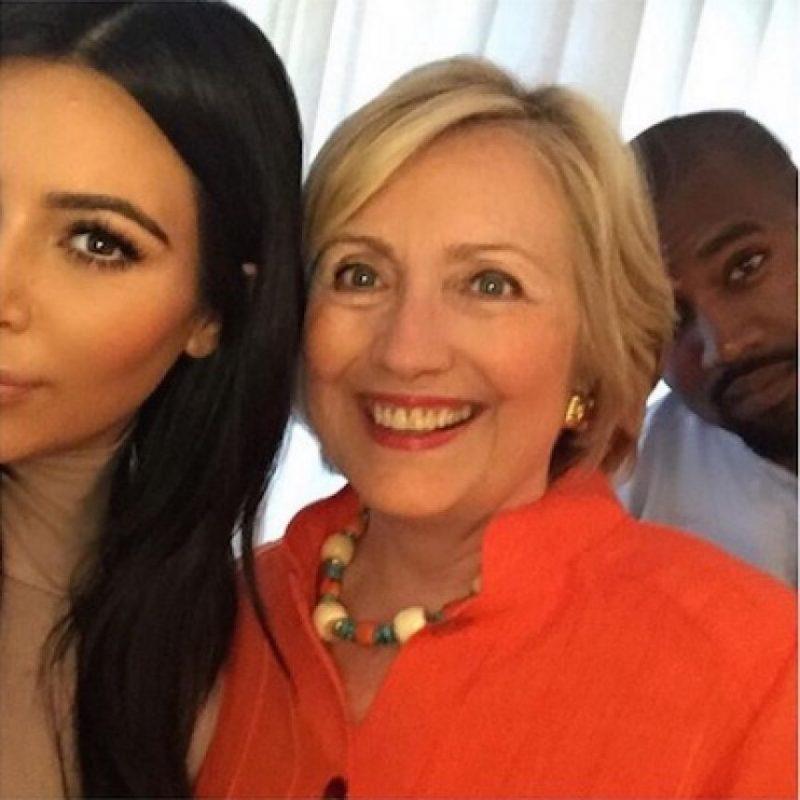 Kim Kardashian y Hillary Clinton Foto:Instagram/kimkardashian