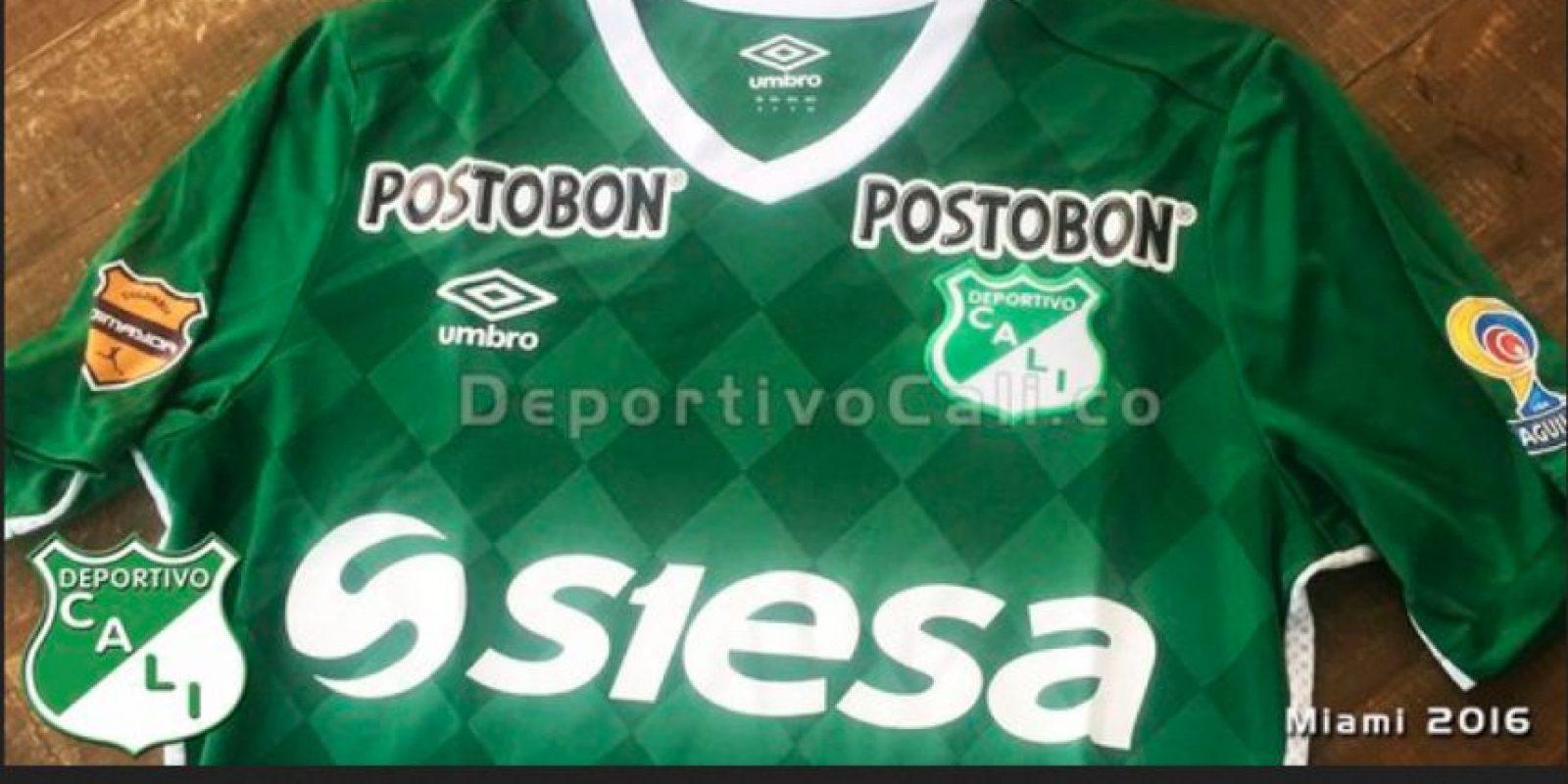 eda6e8ec9fbd2 Así será la camiseta del Deportivo Cali para 2016