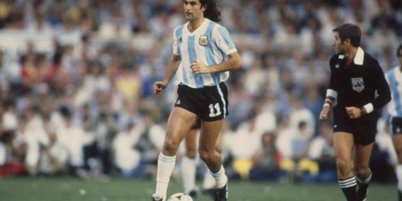 Pudo ganar el Balón de Oro en 1978 Foto:Getty Images