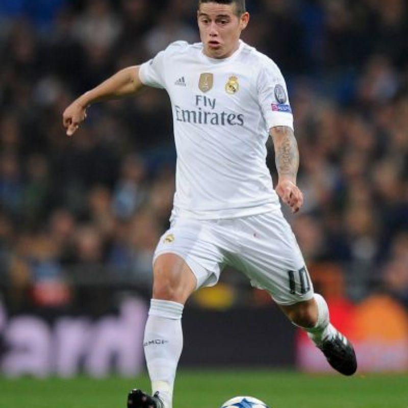 Team Cristiano: James Rodríguez, capitán de Colombia Foto:Getty Images
