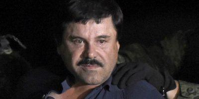 """Joaquín """"El Chapo"""" Guzmán fue recapturado por autoridades mexicanas el pasado 8 de enero. Foto:AFP"""