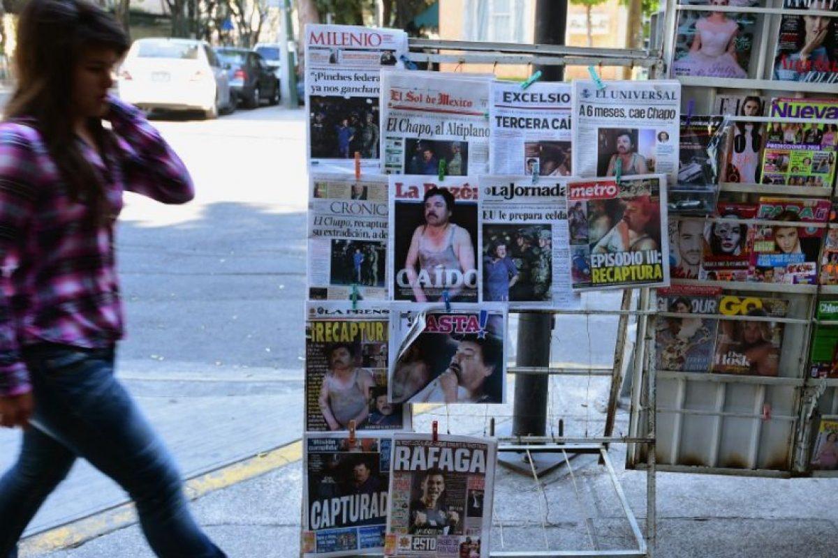 4.- En enero de 2001 logró escapar del penal de máxima seguridad. De acuerdo con las autoridades, el capo logró huir escondido en un camión de lavandería. Foto:AFP
