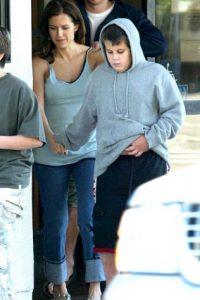 En la foto, Kelly Preston y Jett Travolta Foto:Grosby Group