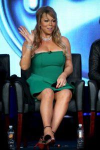 Tal vez este vestido verde no le sentaba bien. Foto:Getty Images
