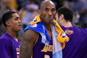 Celebró que se aproxima el retiro del jugador de los Lakers Foto:Getty Images
