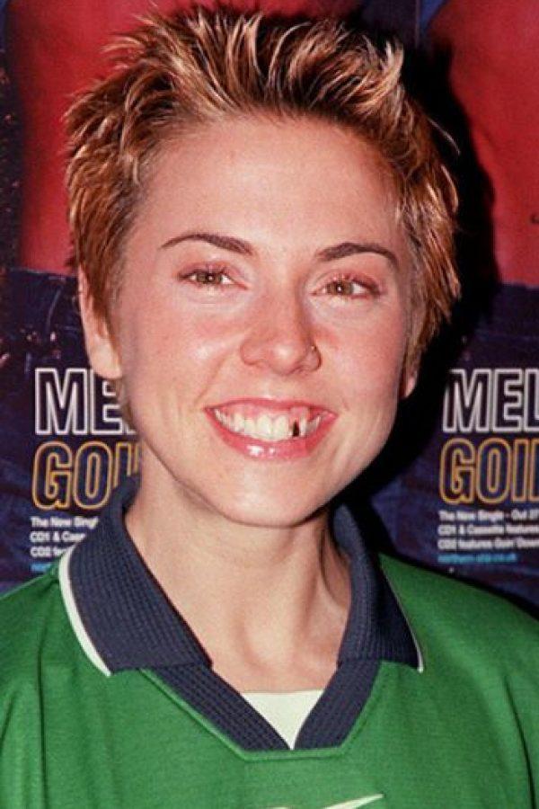 """Melanie C, de las """"Spice Girls"""", cuando comenzaban. Foto:vía Getty Images"""