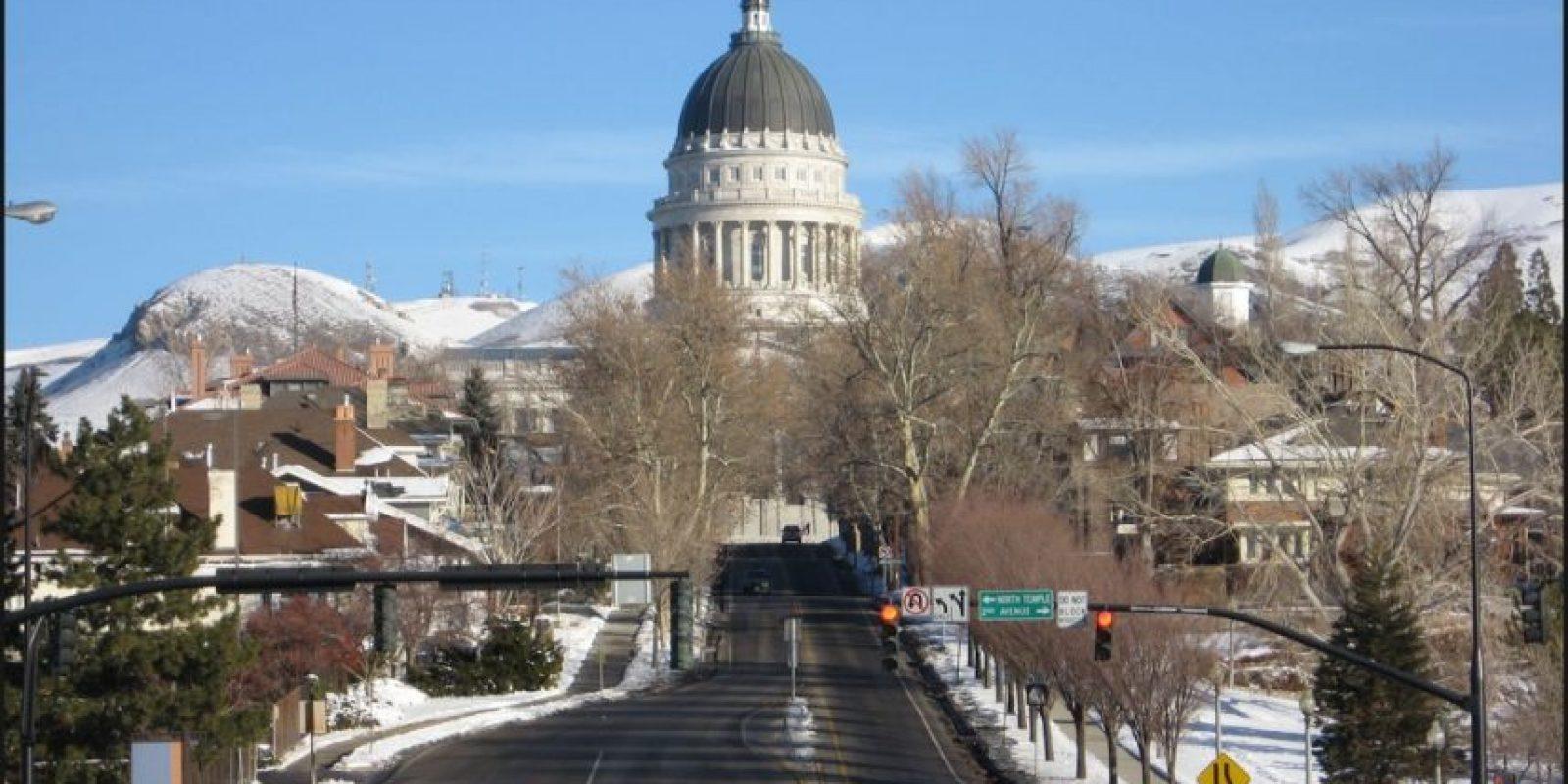 5. Salt Lake City, Utah. Es un buen lugar para los solteros y jóvenes graduados en donde tienen ganancias de 48 mil 552 dólares anuales, esto a pesar de que si consiguió menos 1.21 por ciento de empleos. Foto:Wikipedia.org