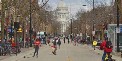 8. Madison, Wisconsin. Anualmente, los trabajadores ganan 50 mil 405 dólares, además de que se ubica en el sexto mejor lugar para las familias. Foto:Vía Flickr