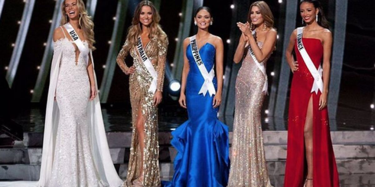 Miss Francia y Miss Australia se pelean por su puesto en Miss Universo