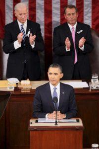 El 4 de abril de 2011 anunció el inicio de su campaña de reelección presidencial. Foto:Getty Images
