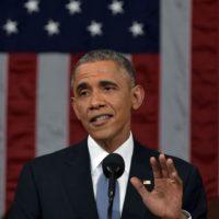 El 2 de abril de 2015, el presidente Obama llegó a un acuerdo histórico con Irán. Foto:Getty Images