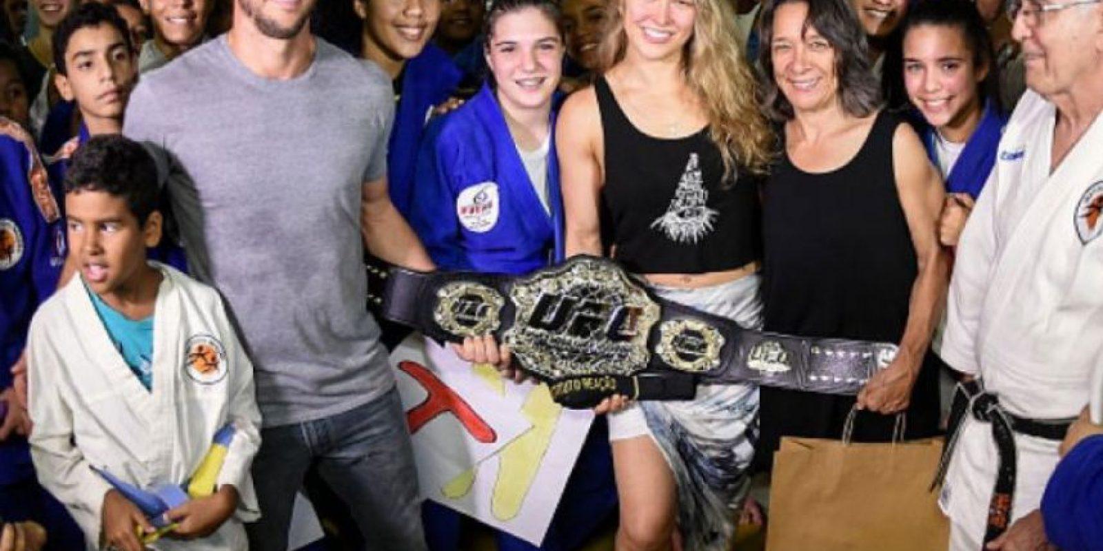 Ronda buscará recuperar el Campeonato Peso Gallo Femenino durante este año Foto:Vía instagram.com/rondarousey