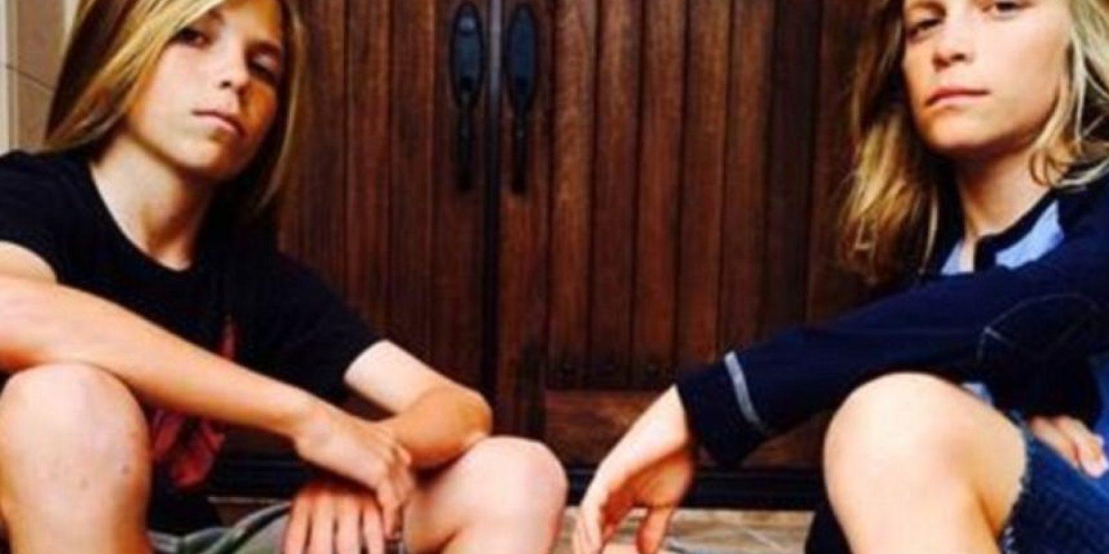 Los gemelos Travis y James Riker, de California. Foto:vía Elle UK