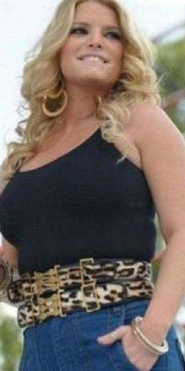 A Jessica Simpson la criticaron por su cuerpo posparto en 2009. Foto:vía Grosby Group