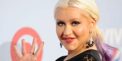 Christina Aguilera sorprendió la década pasada por su aumento de peso. Foto:vía Grosby Group