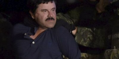 """Por su parte, el líder del cártel de Sinaloa se encuentra detenido en el penal """"El Altiplano"""", desde donde escapó el año pasado. Foto:AFP"""